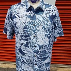 Quicksilver Watermen Collection Hawaiian Shirt 2XL